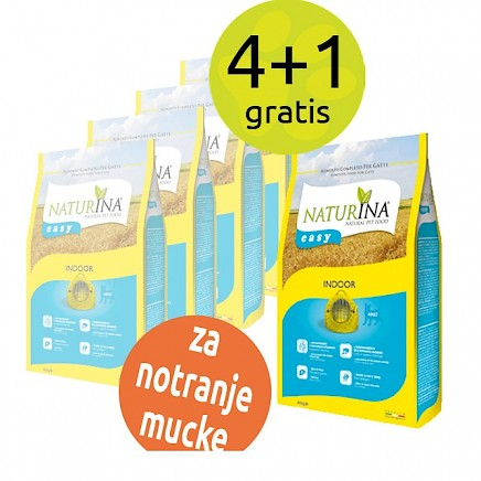 Naturina - Easy Indoor - 5x 400g