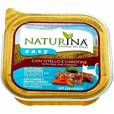 Naturina Easy - s teletino in korenjem - 100g