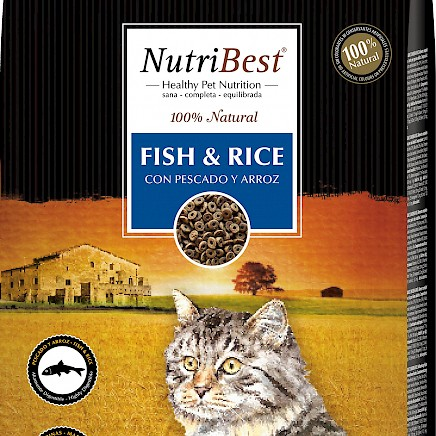 Picart Nutribest - Cat - Fish & Rice - 15kg