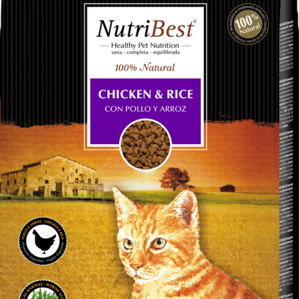 Picart Nutribest - Cat Chicken & Rice - 4kg