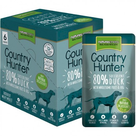 COUNTRY HUNTER mesna vrečka 150 g, raca