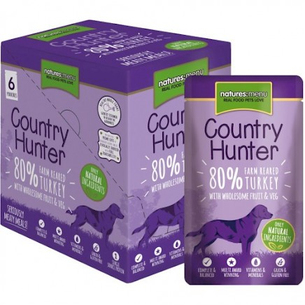 COUNTRY HUNTER mesna vrečka 150 g, puran