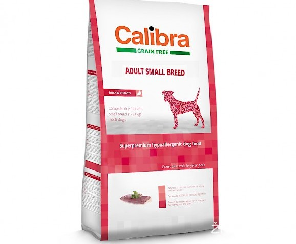 CALIBRA GRAIN FREE ADULT SMALL raca/krompir 2kg